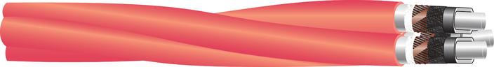 Image of 11 kV Triplex XLPE-AL-RE-FB-LRT AL screen cable