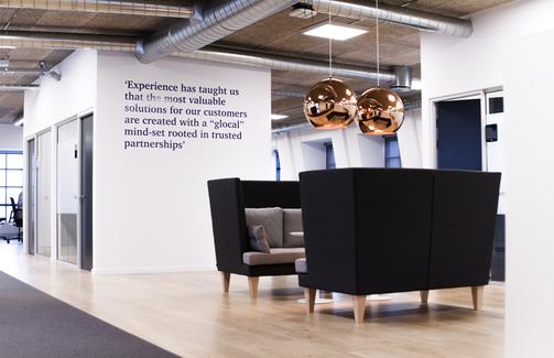Head Office meeting area